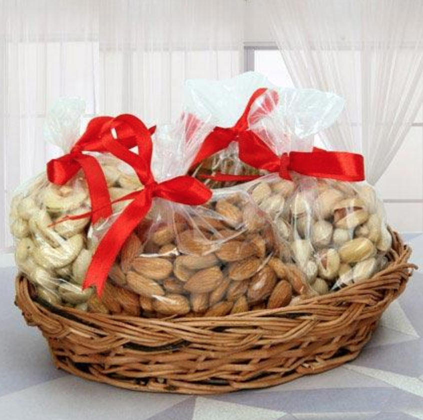 A Basket Filled With These Crunchy Dry Fruits Would Be Great Birthday Gifts For Dad And Ensure Him Strong Healthy Life